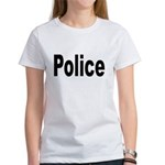 Police (Front) Women's T-Shirt