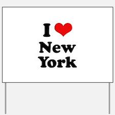I love New York Yard Sign