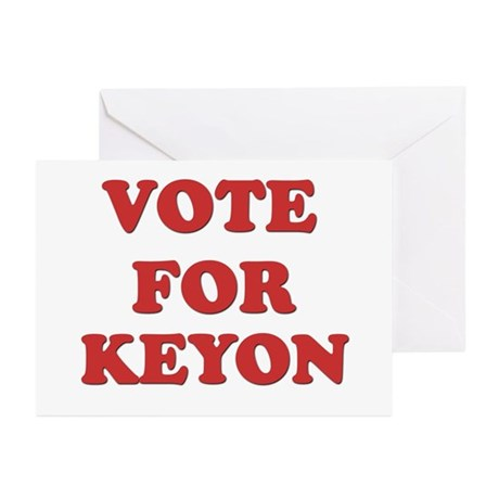 Vote for KEYON Greeting Cards (Pk of 20)