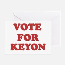Vote for KEYON Greeting Card