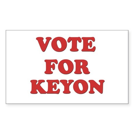 Vote for KEYON Rectangle Sticker