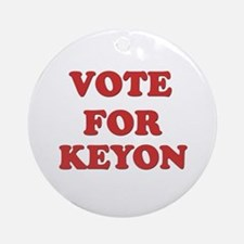 Vote for KEYON Ornament (Round)