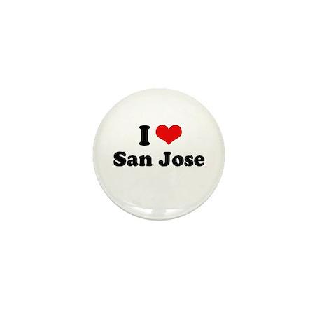 I love San Jose Mini Button
