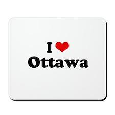 I Love Ottawa Mousepad