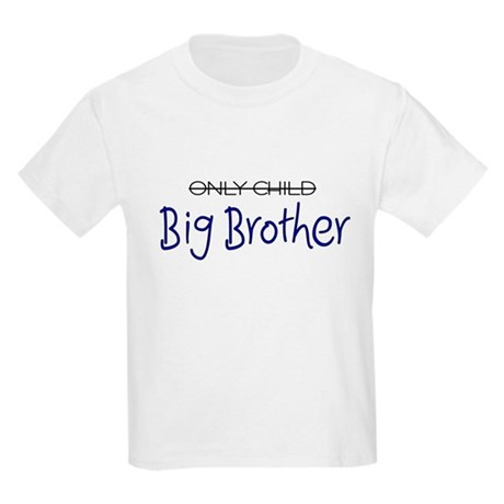 Only Child - Big Brother 2 Kids Light T-Shirt
