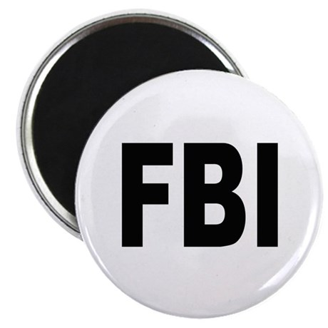 "FBI Federal Bureau of Investigation 2.25"" Magnet ("