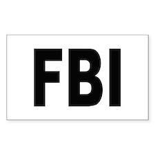 FBI Federal Bureau of Investigation Bumper Stickers