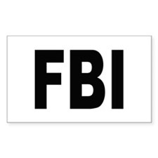 FBI Federal Bureau of Investigation Decal
