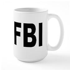 FBI Federal Bureau of Investigation Ceramic Mugs