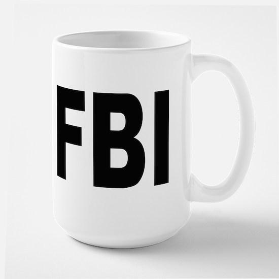 FBI Federal Bureau of Investigation Large Mug