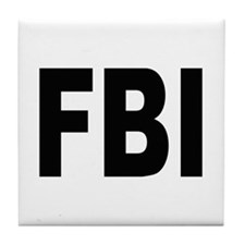 FBI Federal Bureau of Investigation Tile Coaster
