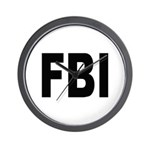 FBI Federal Bureau of Investigation Wall Clock