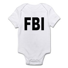 FBI Federal Bureau of Investigation Infant Creeper