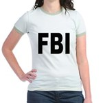 FBI (Front) Jr. Ringer T-Shirt