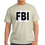 FBI Federal Bureau of Investigation Ash Grey T-Shi