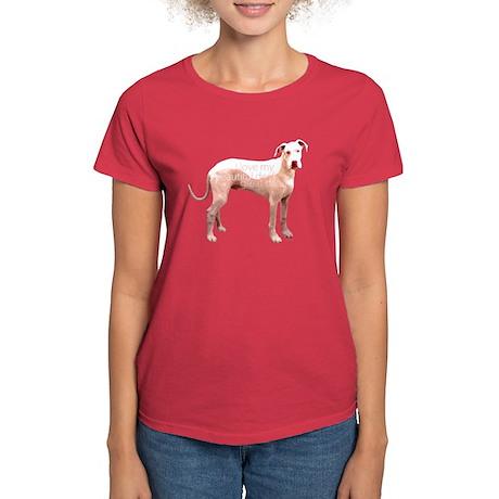 Great Dane Deaf Love Women's Dark T-Shirt
