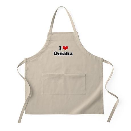 I love Omaha BBQ Apron
