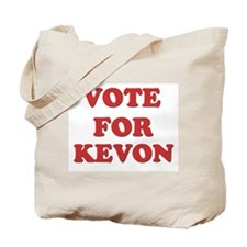 Vote for KEVON Tote Bag