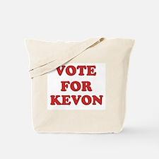 Vote for KEVON Tote Bag