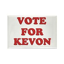 Vote for KEVON Rectangle Magnet