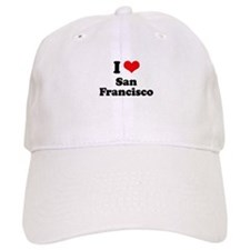 I love San Francisco Baseball Baseball Cap