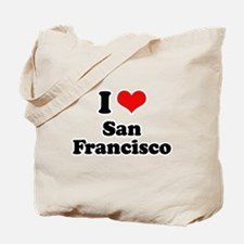 I love San Francisco Tote Bag