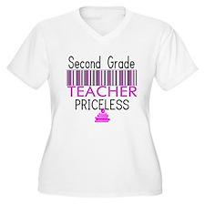 Second Grade Teacher Priceles T-Shirt