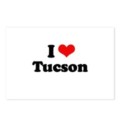 I love Tucson Postcards (Package of 8)