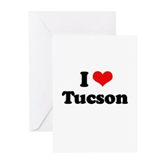I love Tucson Greeting Cards (Pk of 20)