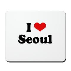 I love Seoul Mousepad