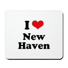 I love New Haven Mousepad