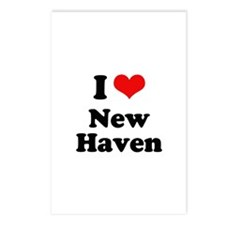 I love New Haven Postcards (Package of 8)