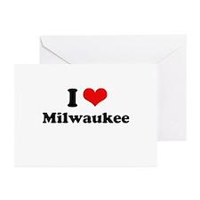 I love Milwaukee Greeting Cards (Pk of 20)