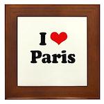 I love Paris Framed Tile
