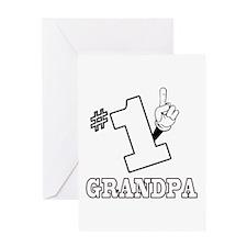 #1 - GRANDPA Greeting Card