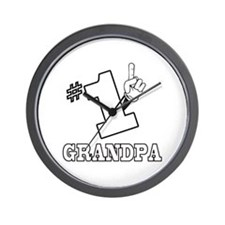 #1 - GRANDPA Wall Clock