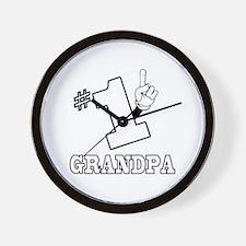 #1 - GRANDPA Wall Clock
