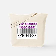 Second Grade Teacher Priceles Tote Bag