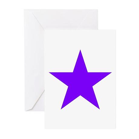 Purple Star Greeting Cards (Pk of 10)