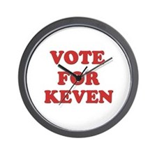 Vote for KEVEN Wall Clock