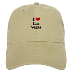 I love Las Vegas Baseball Cap