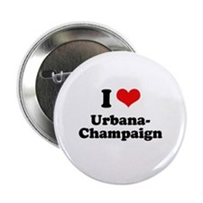 "I love Urbana-Champaign 2.25"" Button"