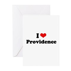 I love Providence Greeting Cards (Pk of 10)