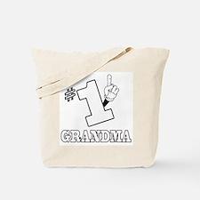 #1 - GRANDMA Tote Bag