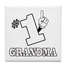 #1 - GRANDMA Tile Coaster