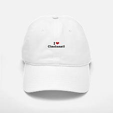 I love Cincinnati Baseball Baseball Cap