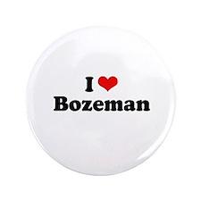 "I love Bozeman 3.5"" Button (100 pack)"