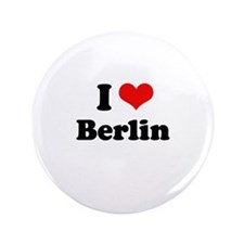 "I love Berlin 3.5"" Button (100 pack)"