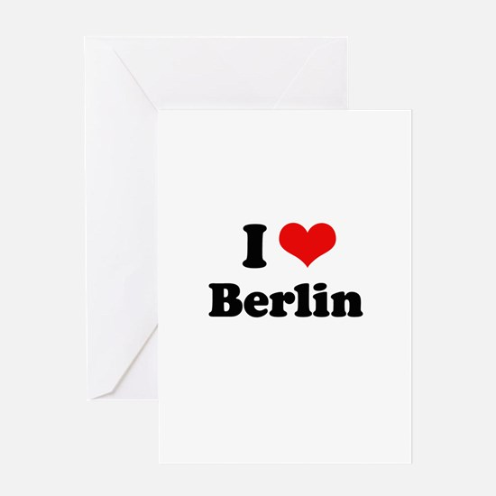 I love Berlin Greeting Card
