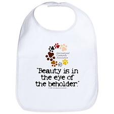 Beauty...eye...beholder Bib